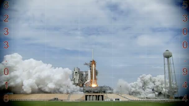 Vypuštění rakety do vesmíru