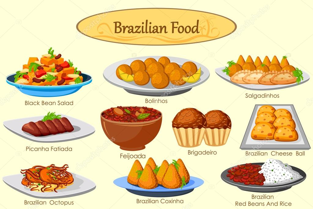 Brazilian Food Menu