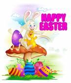Šťastné Velikonoce dovolená oslava