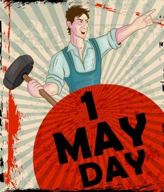 Happy May Day celebration