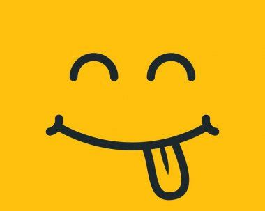 Smiley face. Yellow smile poster. World smile day. Vector illustration. Smiley vector. Smiley icon. Emoticon background. Emoticon icon. Emoticon wallpaper. icon