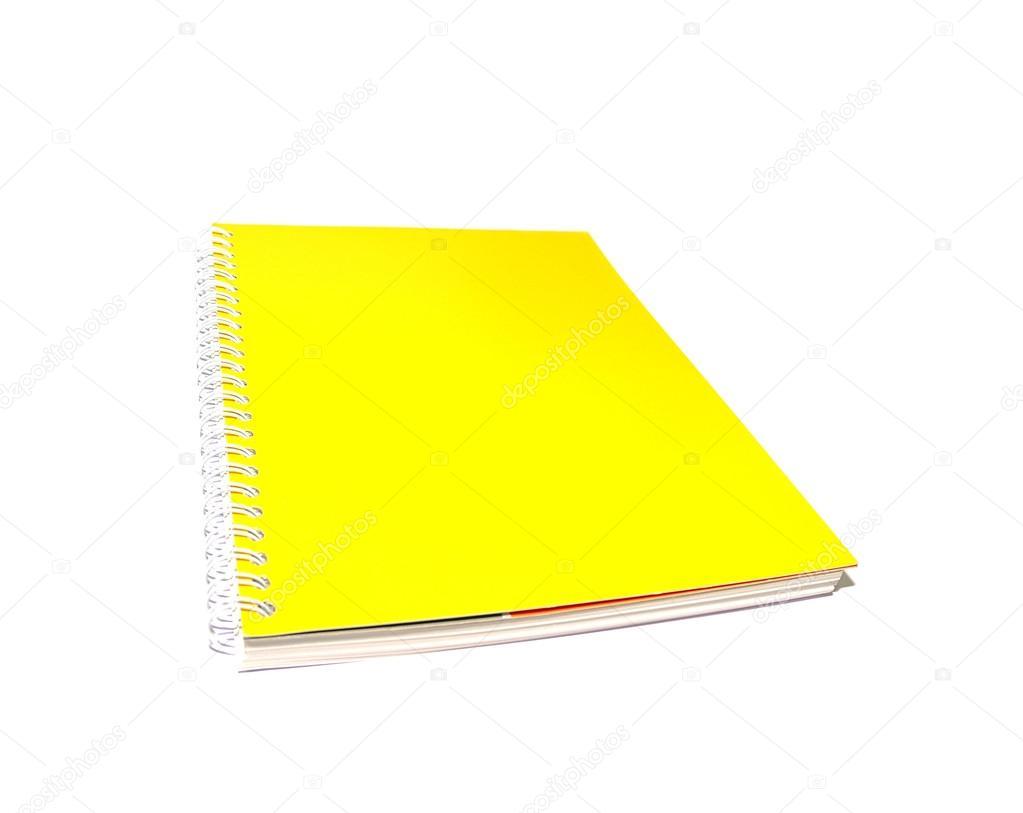 cuaderno amarillo — Foto de stock © weradeposit #85974556