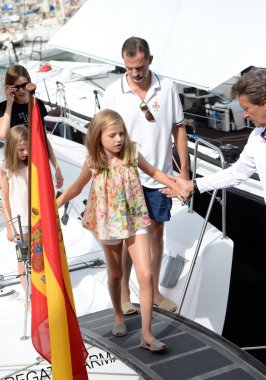 The Spanish Royal Family in Majorca