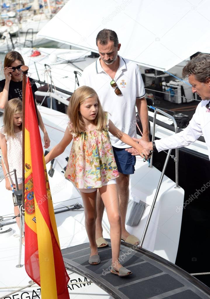 The Spanish Royal Family in Majorca