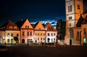 Fotografie Centrální náměstí starověké město Bardejov