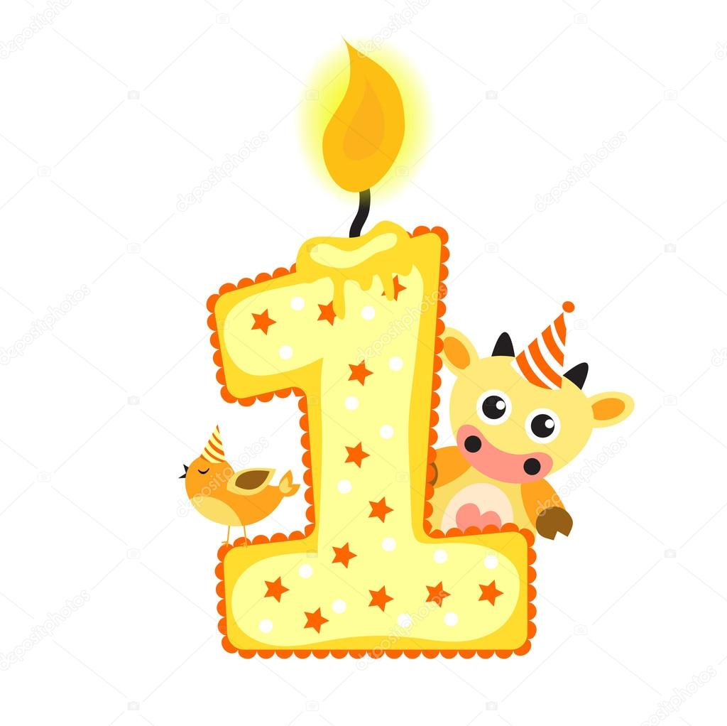 Happy prvn narozeniny sv ku a zv ata izolovan na b l m - Feliz cumpleanos bebe 1 ano ...