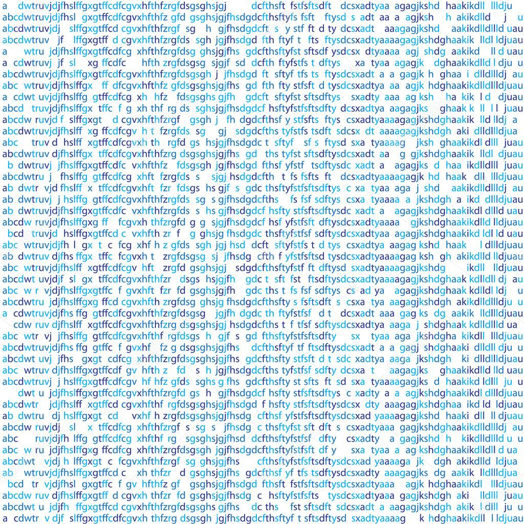 Seamless Texture Random Letters Symbols Computer Code Binary Code