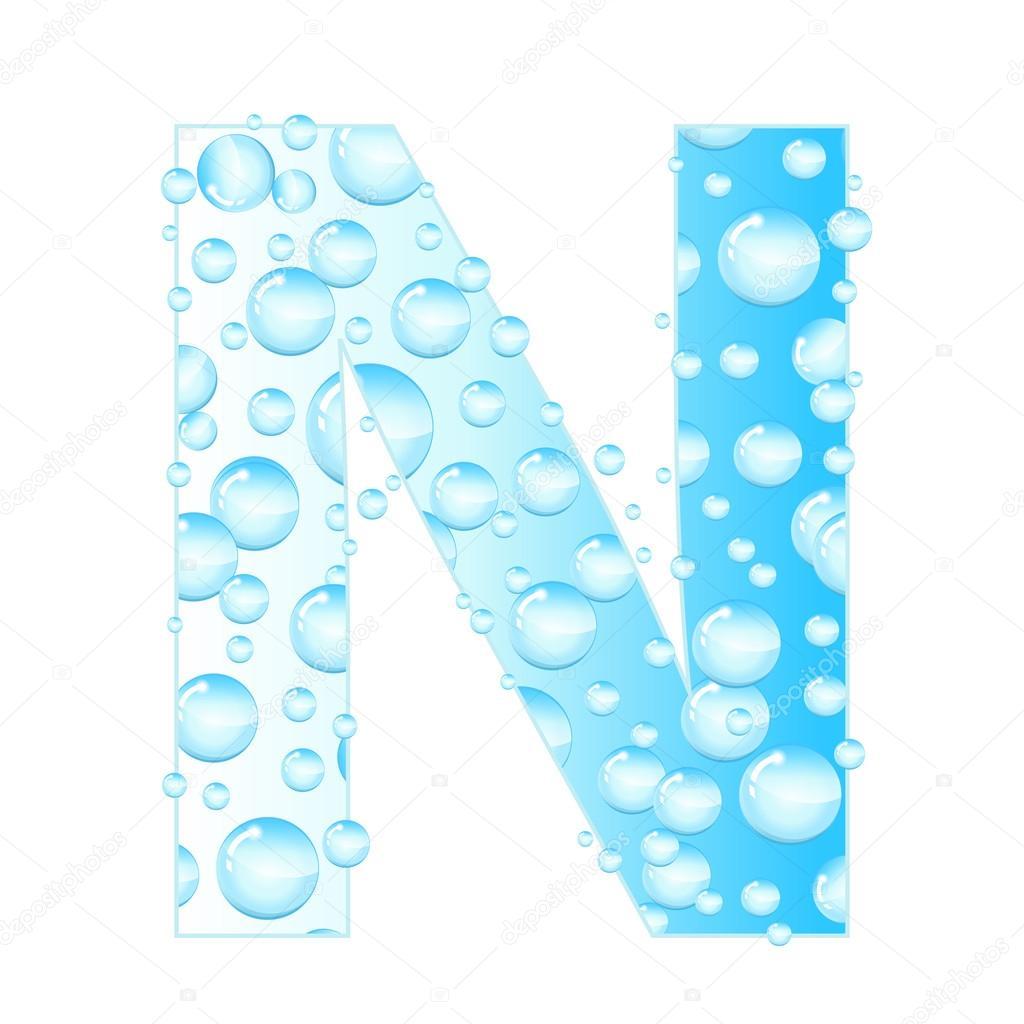 lettres de savon bulles gouttes d eau lettre adress e par les bulles de l eau lettre aqua. Black Bedroom Furniture Sets. Home Design Ideas
