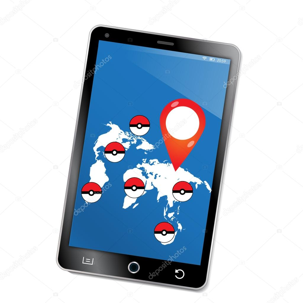 World map navigation ball on the world map the game on the phone world map navigation ball on the world map the game on the phone gumiabroncs Gallery