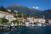 Menaggio, jezerem Como, Itálie