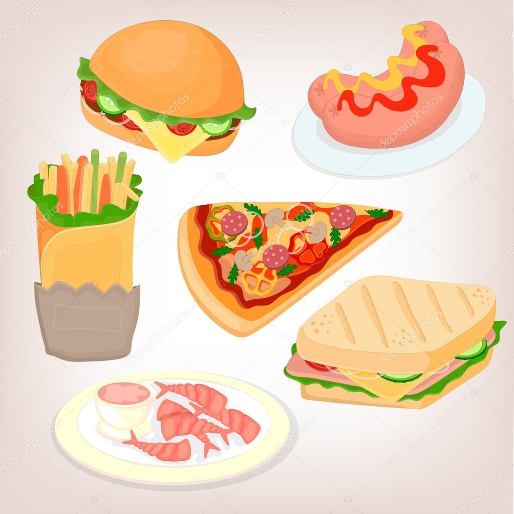 Juegos De Cocina Salchichas Y Hamburguesas Conjunto De Comida
