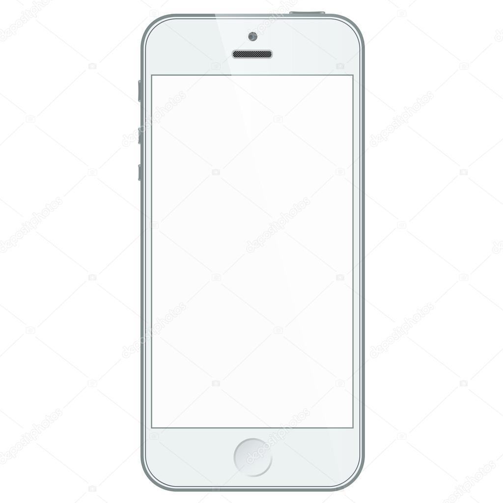 Sfondo Bianco Cellulare Telefono Cellulare Aziendale Bianco