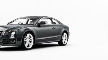 Luxury coupe car