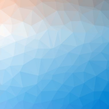Triangle pattern background
