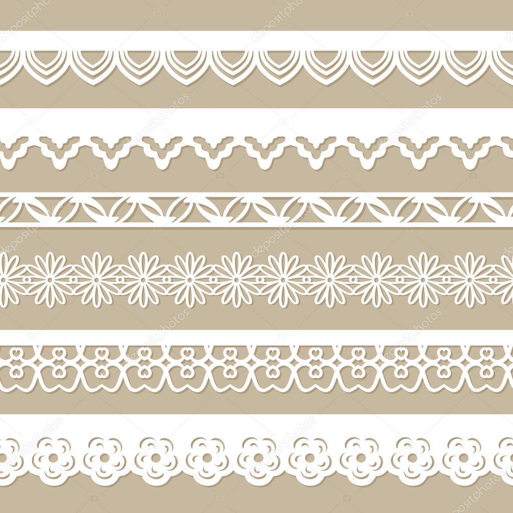 Paper laces