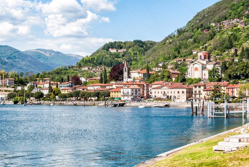 Varese Italien laveno mombello sur le lac majeur varese italie photographie