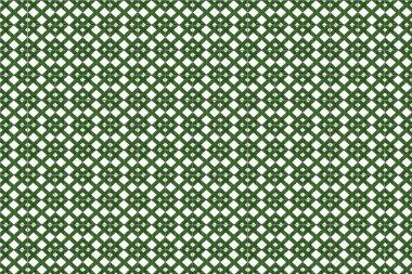 Green mosaic azulejo texture in Lisbon.