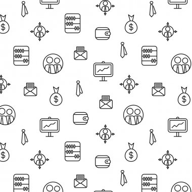 Business icons, vector.