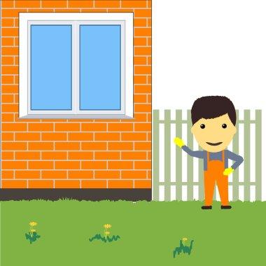 Happy builder. My house.