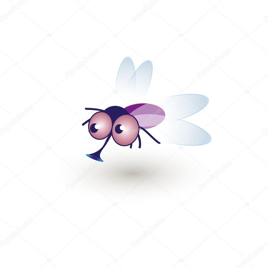 Гиф, муха прикольная картинка