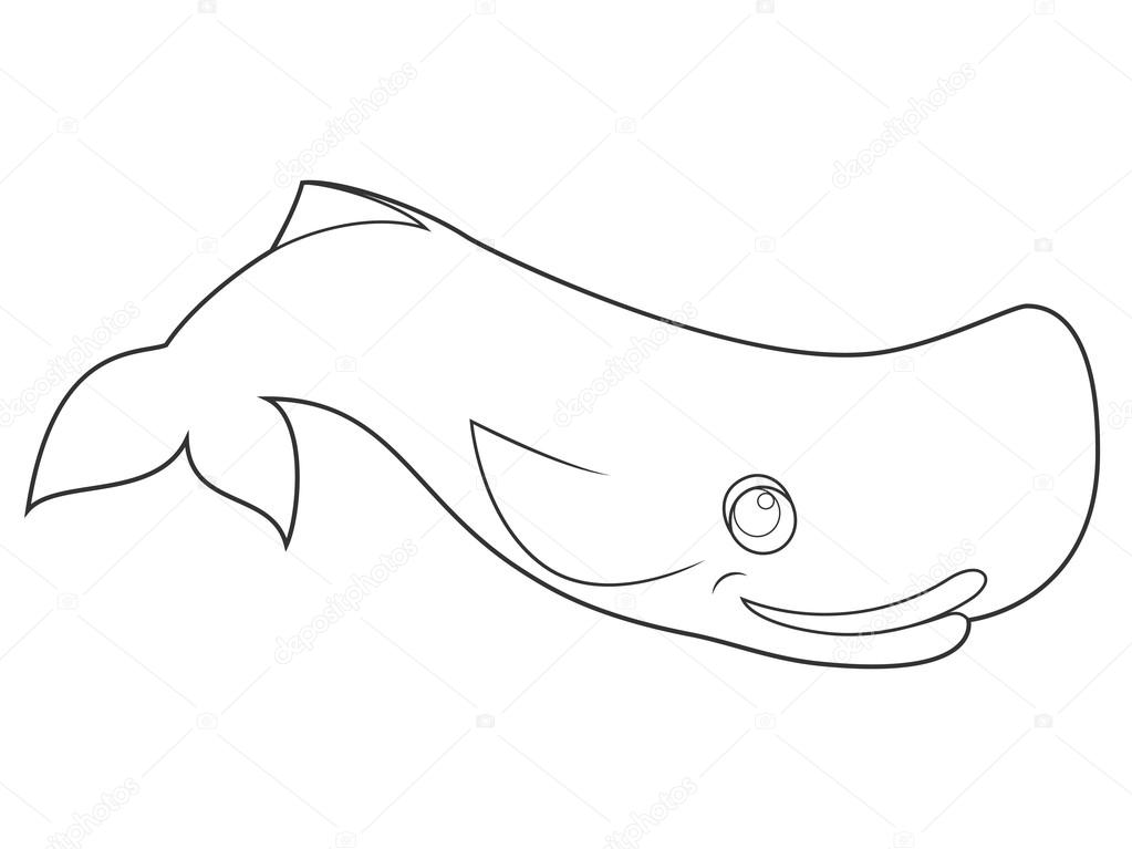 Imágenes: ballena caricatura para colorear | Libro para colorear de ...