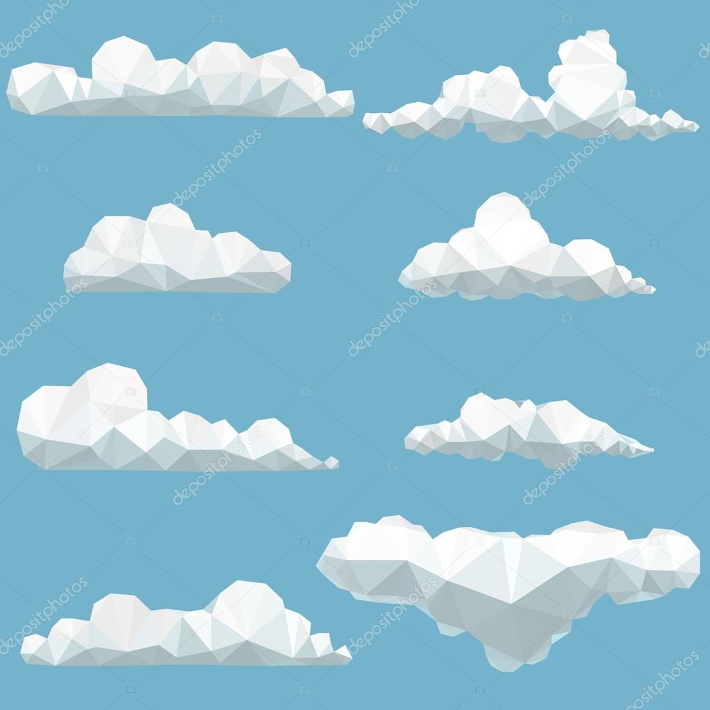 polygonal clouds
