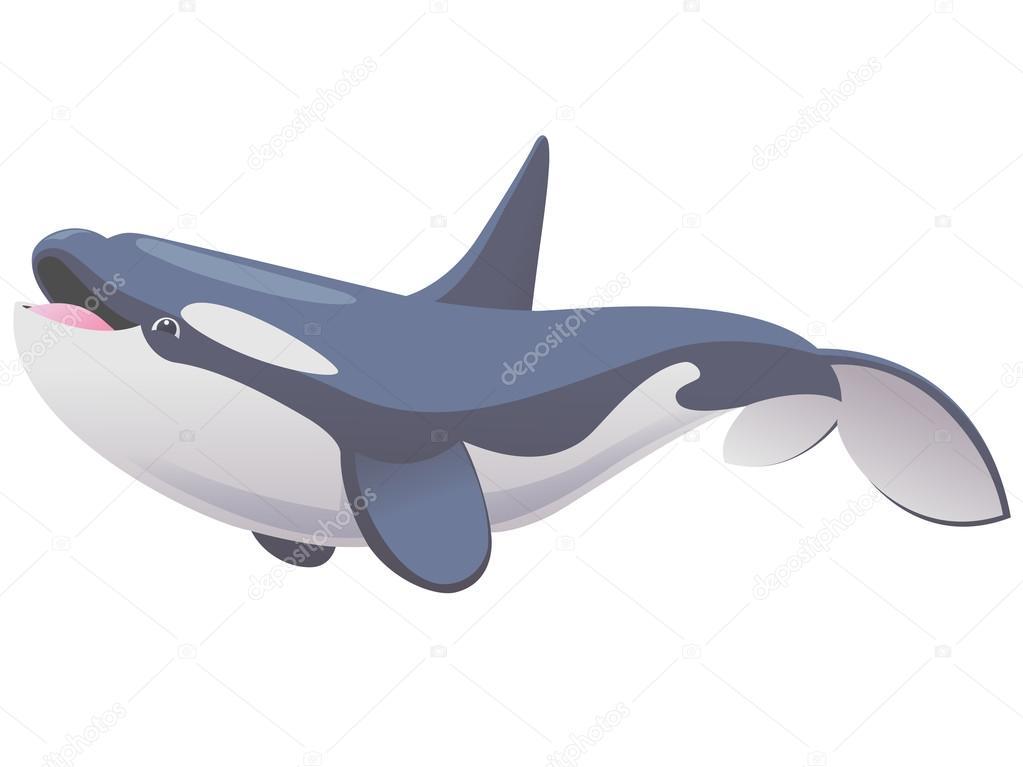 かわいいシャチのクジラ ストックベクター Ilyaf 91839736