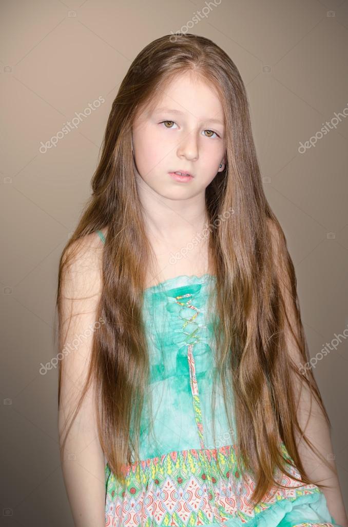 Foto capelli lunghi bambina