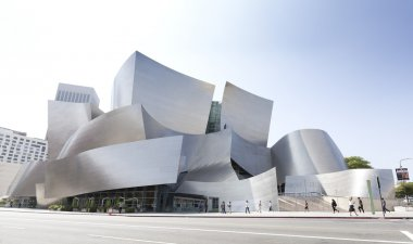 Walt Disney Concert Hall.