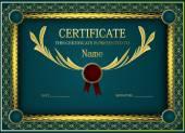Původní šablona certifikátu