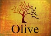 Fényképek olajfa logó