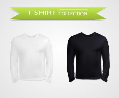 Long sleeve t-shirt template
