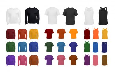 Big t-shirt template collection