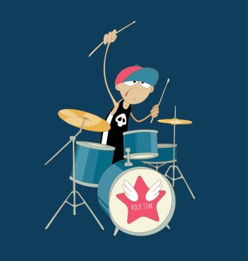 crazy drummer boy