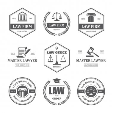 Law labels set