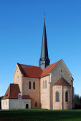 Monastery Church of Saint Mary in the Brandenburg Doberlug - Germany.