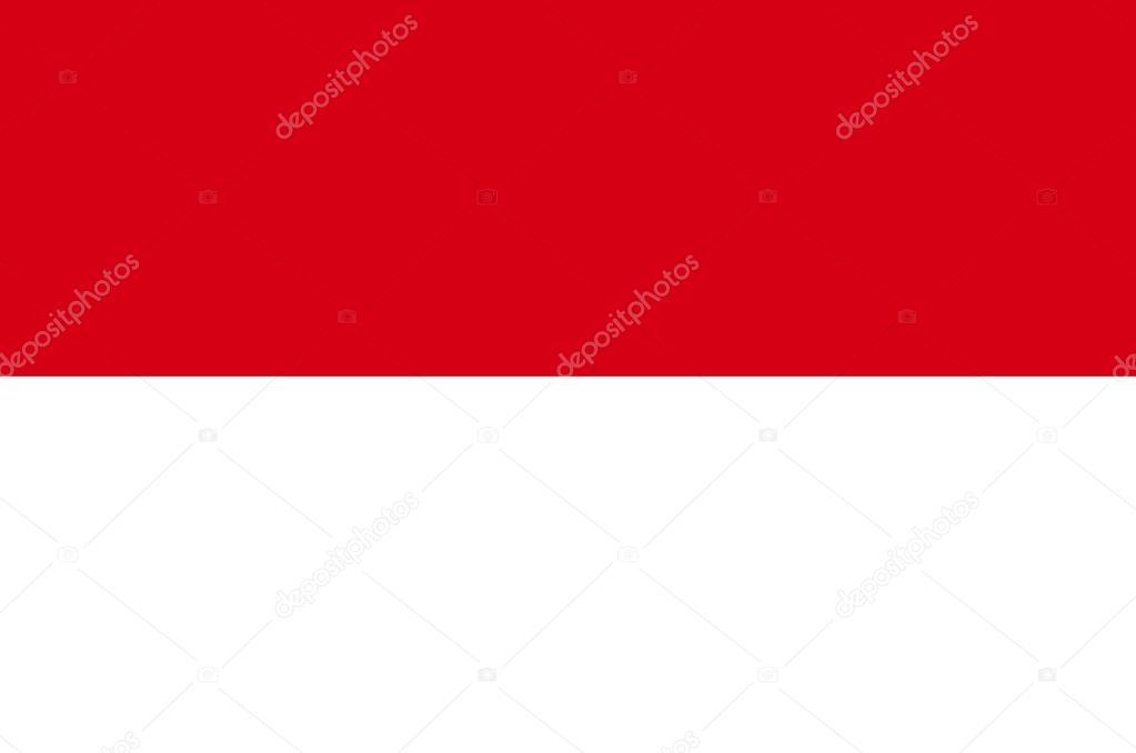 Drapeau De L Indonésie drapeau de l'indonésie — photographie berolina © #83226620