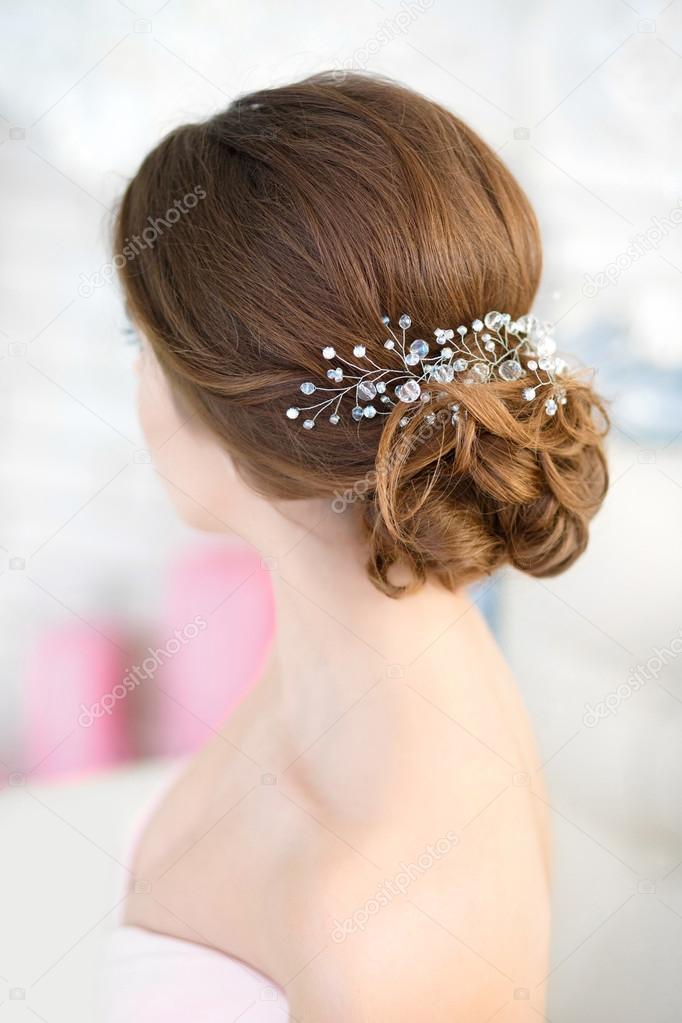 Невеста прическа фото сзади