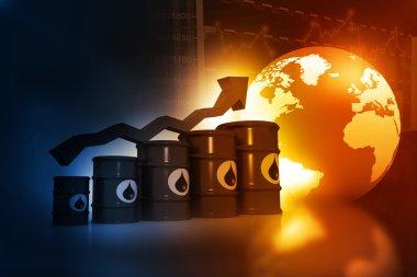 Increasing oil price