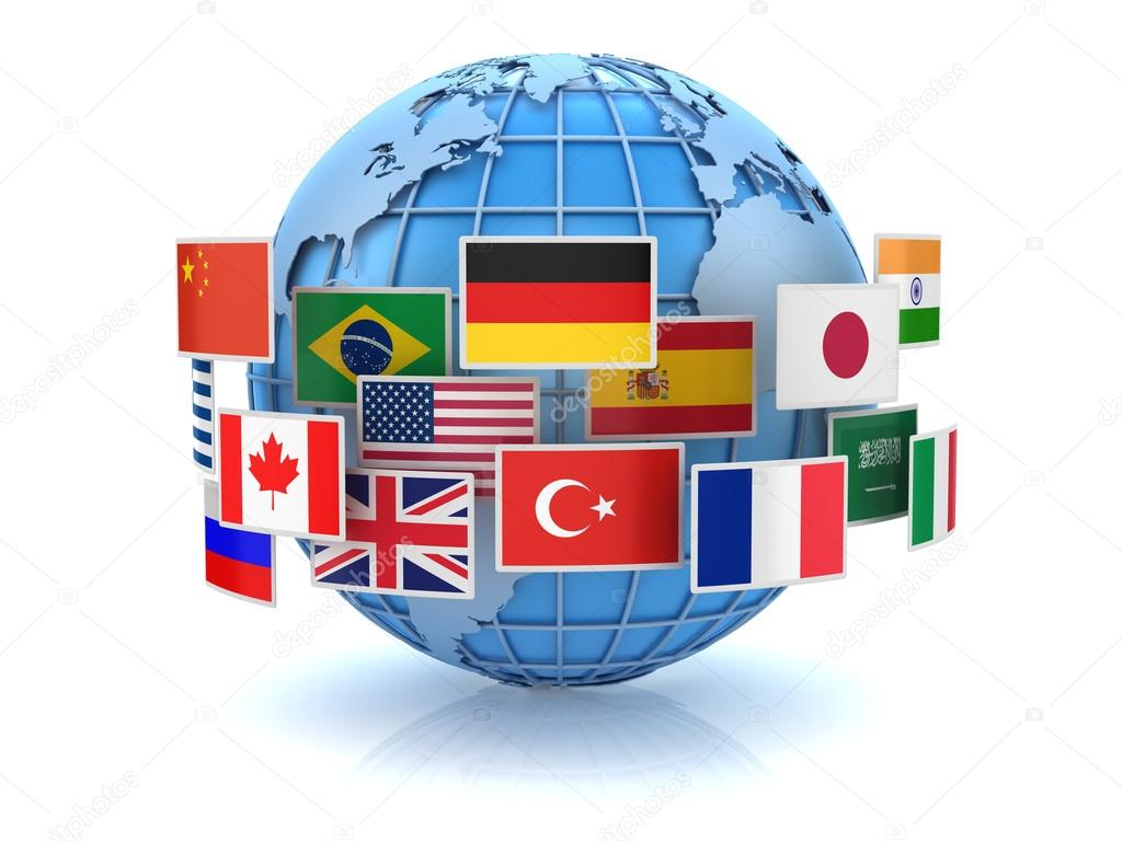 World map and country flags stock photo adempercem 116035392 world map and country flags stock photo gumiabroncs Choice Image
