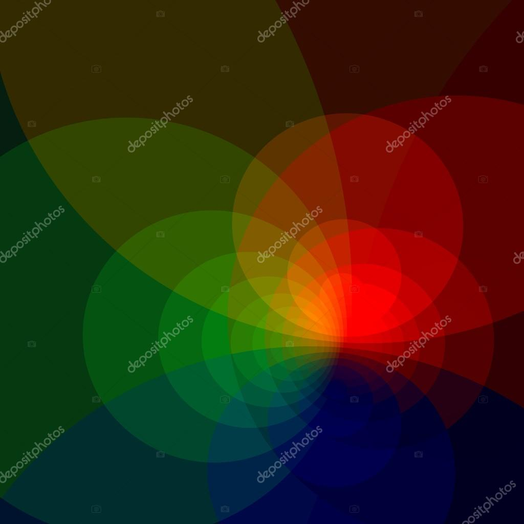 Abstract Colorful Background With Copy Space - Generative Art Red ...