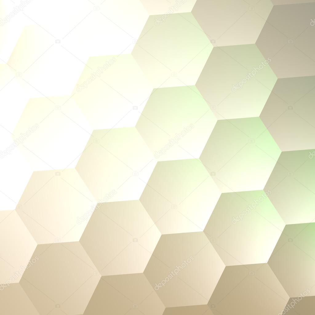 white hexagon wall background simple blank copy space lots of hexagons abstract quilted soft hex shapes poster banner or flyer backdrop design - Simple Shapes Wall Design