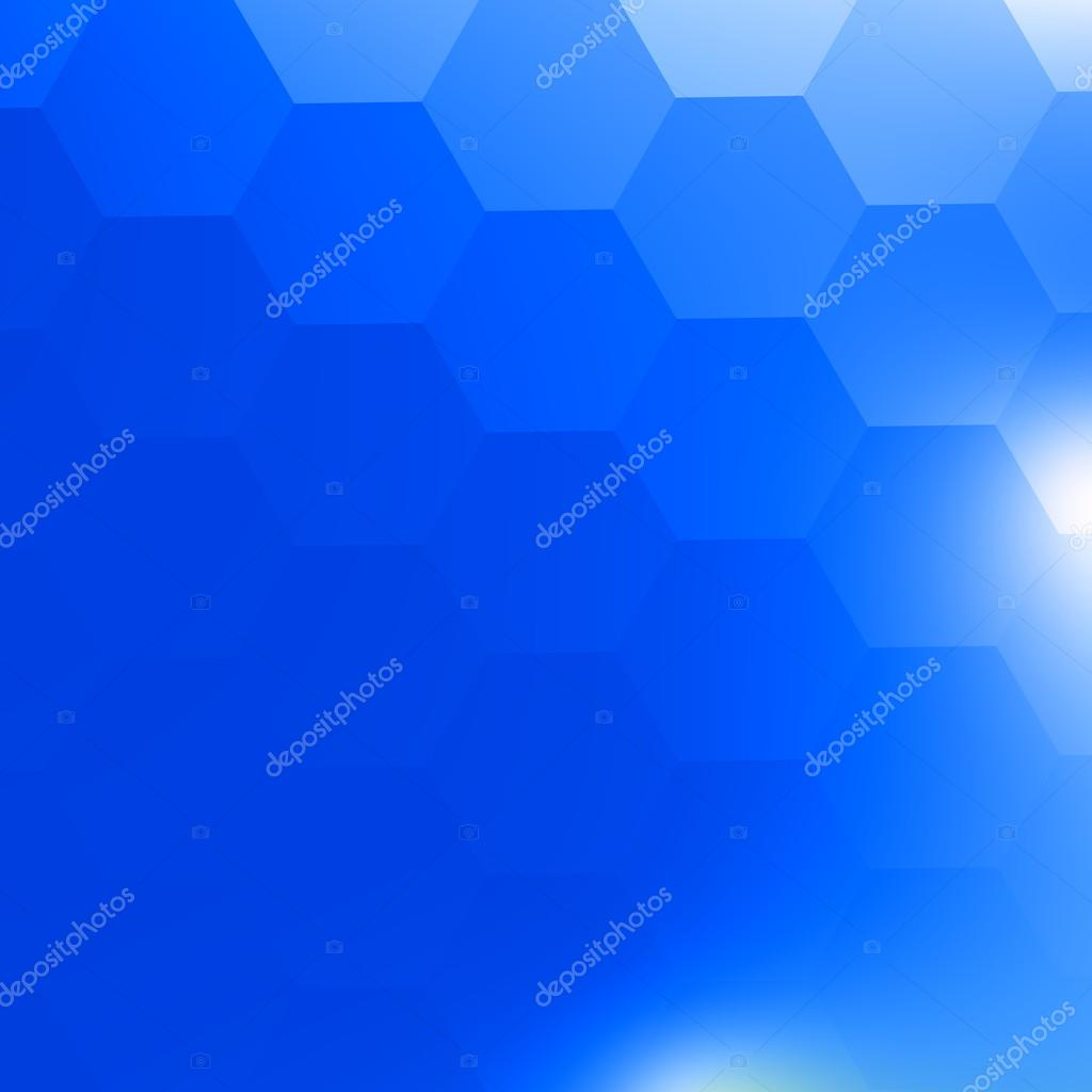 simple blue geometric background. white light. backdrop for brochure