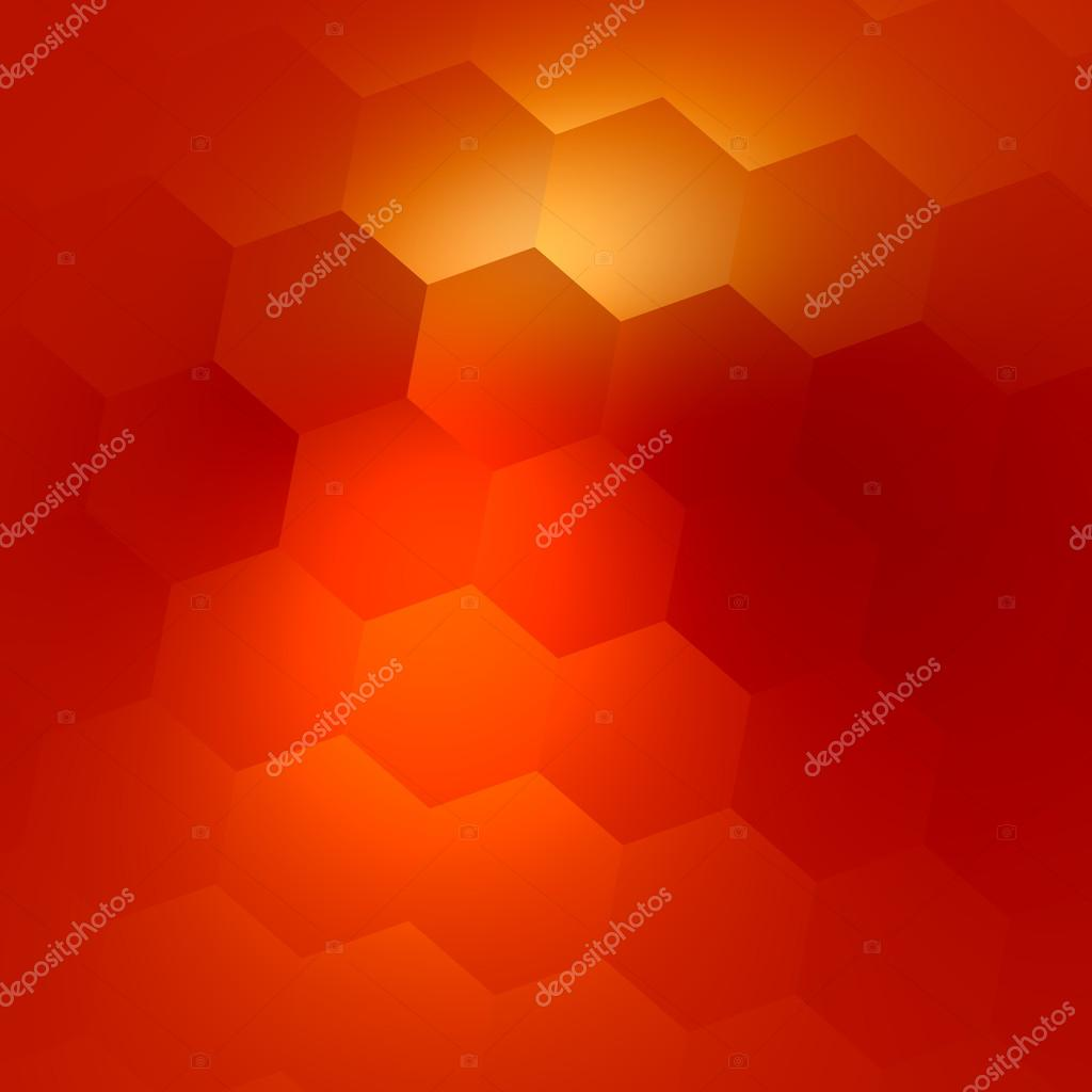 Abstract Orange Colored Background Polygonal Business