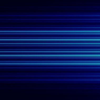 Abstract background design with blue horizontal lines. Full frame empty space. Visual ray or beam. Cool pic with stream of rays. Striped motion effect. Stylish decor for company front page. Made.