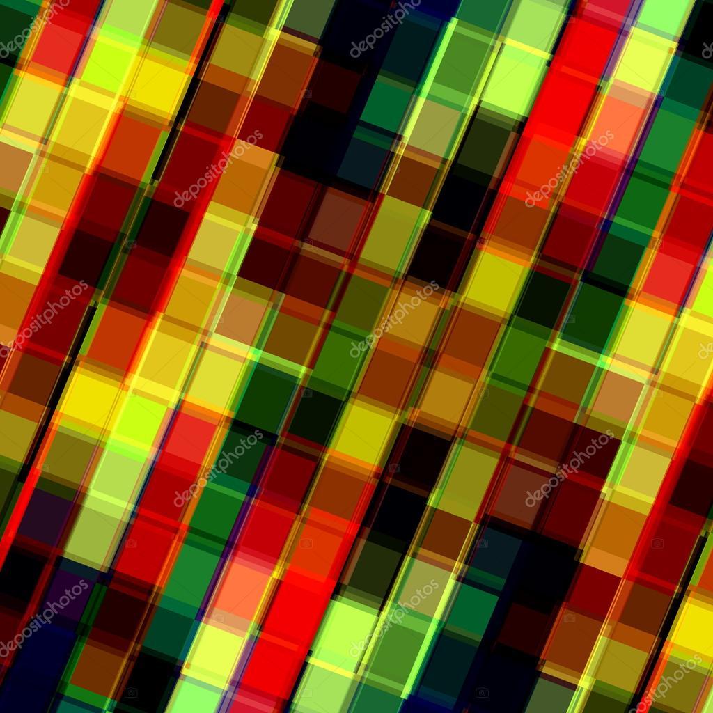 Coloridos cuadros superpuestos. Arte de píxeles impar. Foto mosaico ...