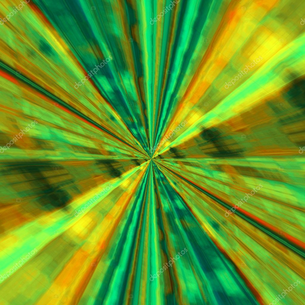 Abstract Infinite Background Design Deep Stylistic Sci Fi Wormhole