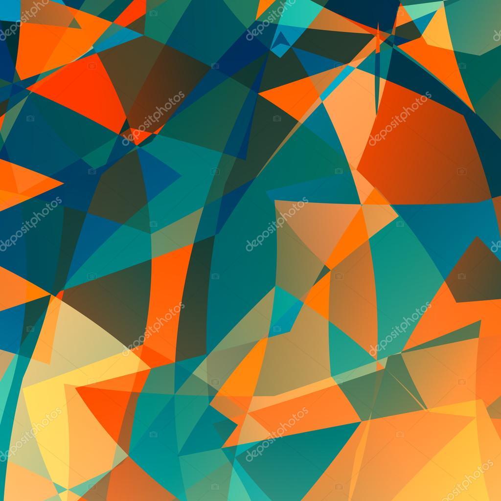 Odd Desktop Backgrounds Orange Blue Poly Background Odd Unique