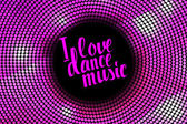Fotografia Io ballo musica rosa iscrizione di amore