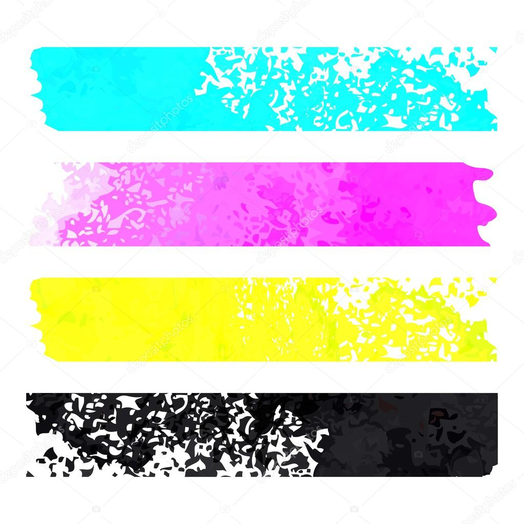 cmyk grunge stripes pattern vector background stock vector rh depositphotos com grunge vector art grunge vector art